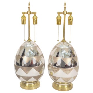 Mercury Glass Table Lamps For Sale