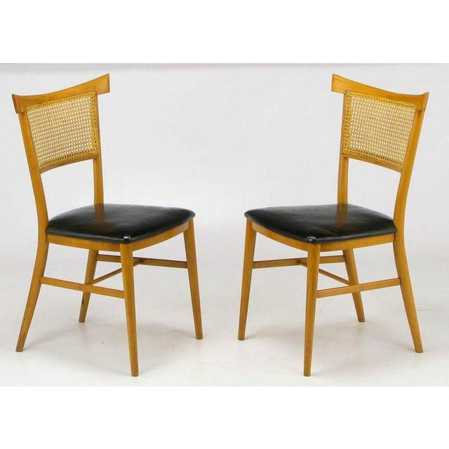 Four Paul McCobb Maple Perimeter Group Dining Chairs - Image 2 of 8