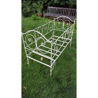 Antique French Wrought Iron Crib and Childs Day Bed Preview