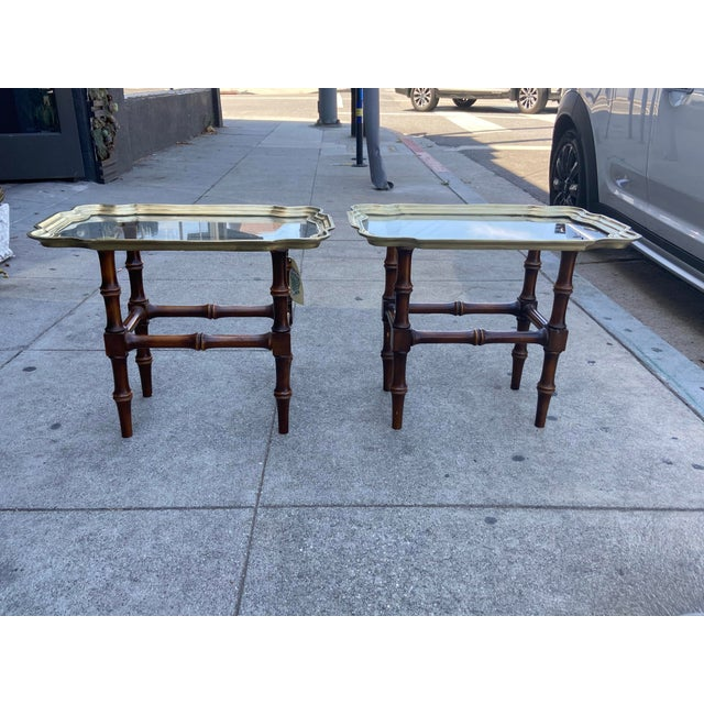 This vintage pair of occasional tables will add a warm moroccan flair to your boho chic decor. Each table features a...