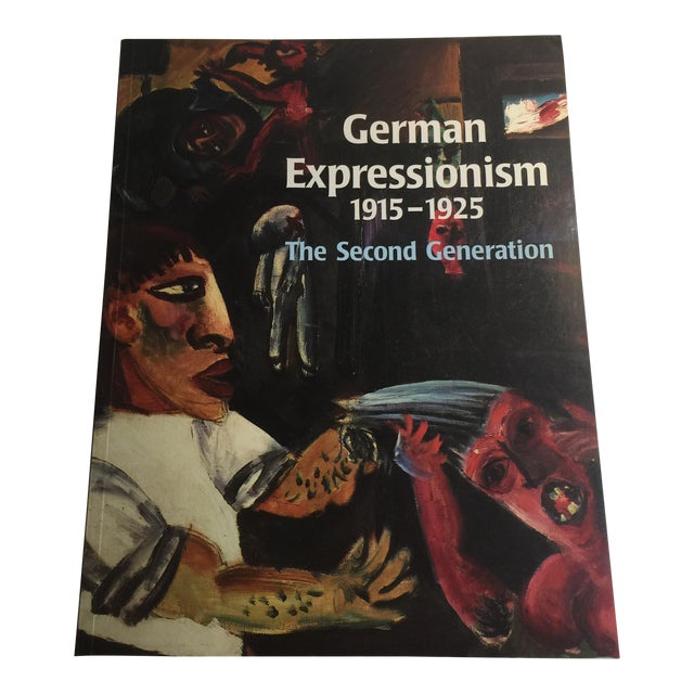 """""""German Expressionism 1915-1925"""" Art Book For Sale"""