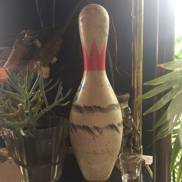 Americana Brunswick Retired Bowling Pin For Sale - Image 3 of 7