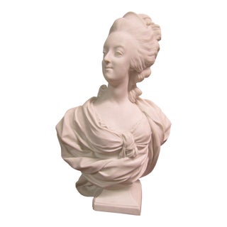 Sevres Bisque Bust of Marie Antoinette