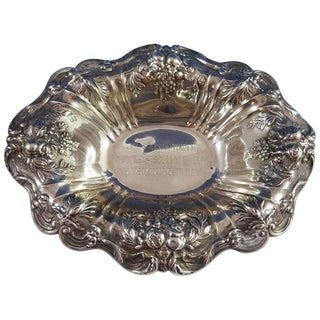 Francis I by Reed & Barton Old Sterling Silver Bowl Oval Footed #X566f For Sale