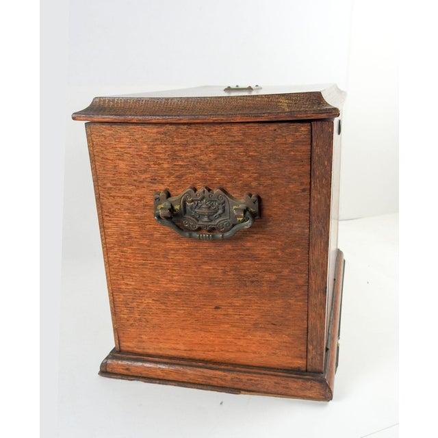 Art Nouveau Antique Folding Portable Writing Desk For Sale - Image 3 of 13 - Antique Folding Portable Writing Desk Chairish