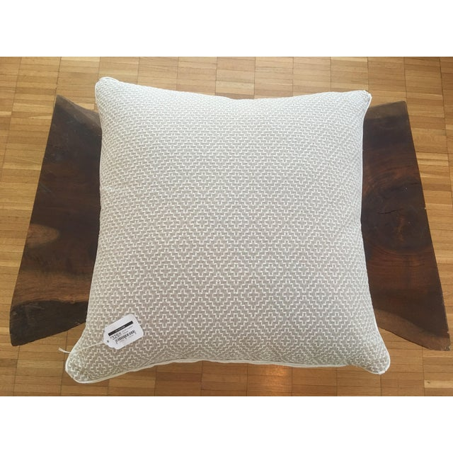 Oatmeal Linen Pillows - A Pair - Image 4 of 6