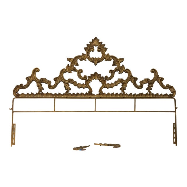 Brazilian Designer Vintage Head Board - Image 1 of 6