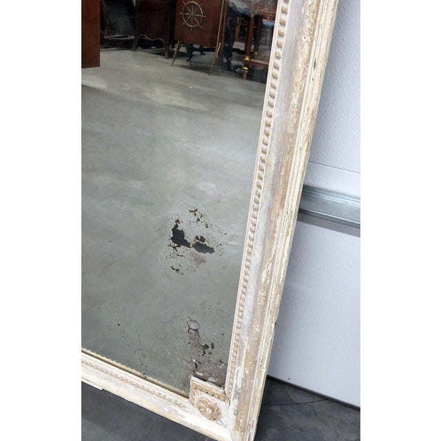 Early 20th Century Louis XVI Style Wall Mirror For Sale - Image 5 of 12