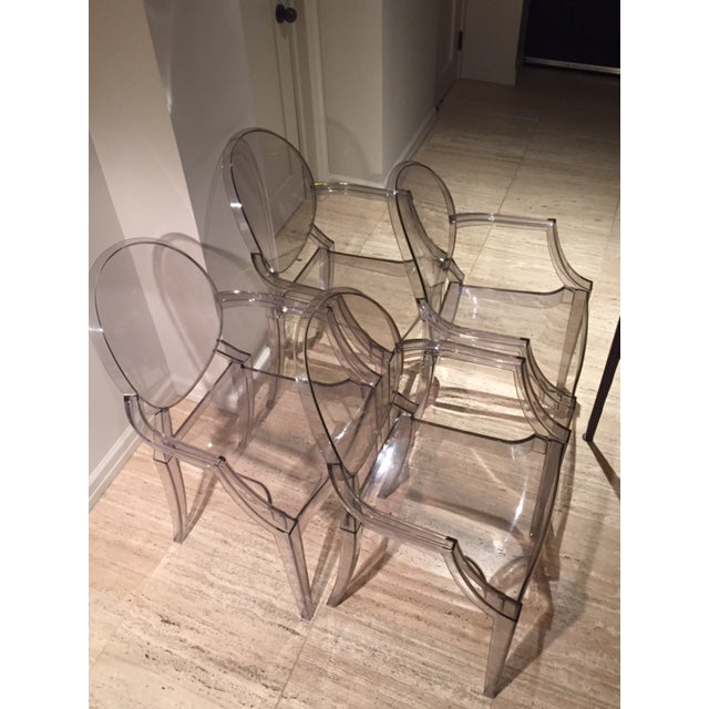 Philippe Starck Ghost Chairs - Set of 4 For Sale In New York - Image 6 of 7