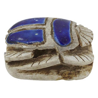 Scarab Beetle Paperweight For Sale