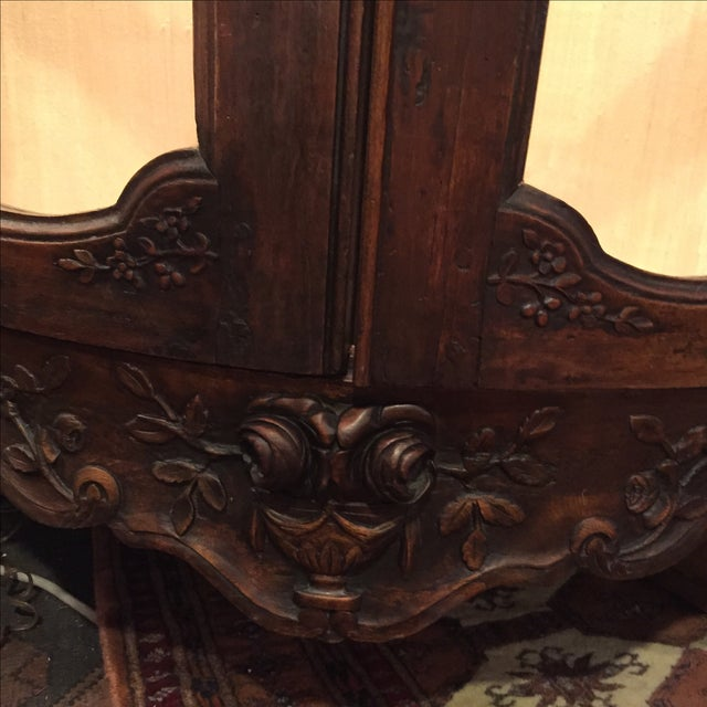 Antique 1750s Corner Cabinet with Original Marble - Image 4 of 8