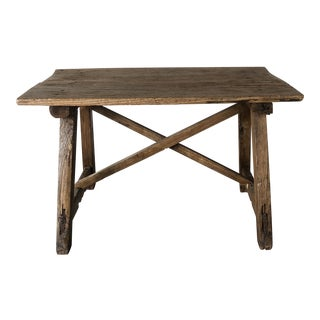 Late 20th Century Rustic Table For Sale