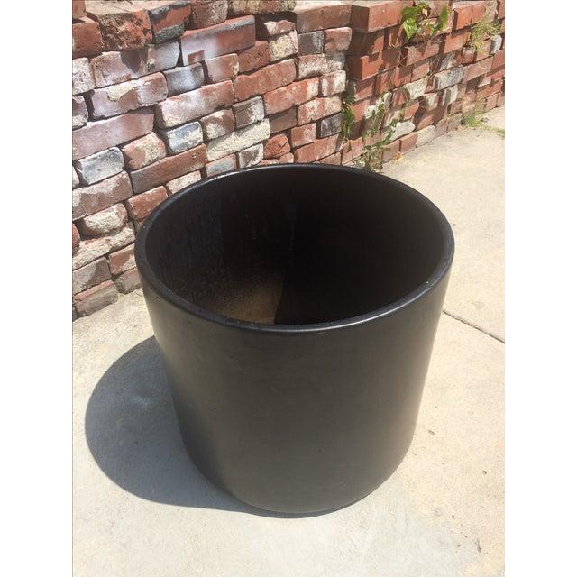 Matte Black Gainey AC-16 Planter Pot For Sale - Image 5 of 6