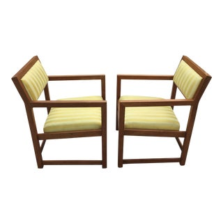 Dunbar by Wormley Armchairs - a Pair For Sale