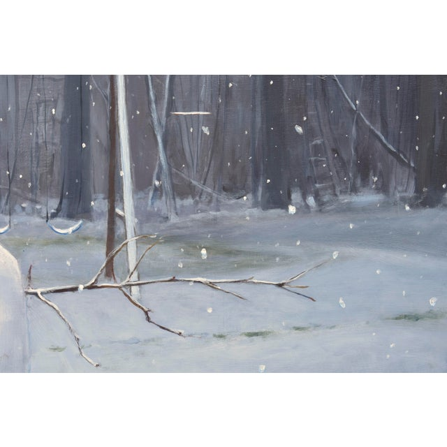 Painting of a Snowman - Image 4 of 7