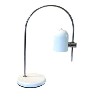 1960s Joe Colombo Style Arc Desk Table Lamp For Sale