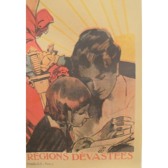 1920 French Vintage Propaganda Poster, Credit National - Image 4 of 6
