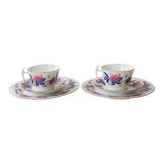Spode Copeland Bone China Tête-à-Tête Breakfast Set - Service for 2 For Sale