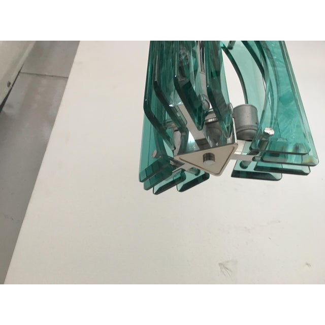1970s Vintage Murano Glass Chandelier For Sale - Image 6 of 8