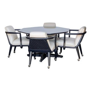 Maurice Bailey for Monteverdi Young Game Table and 4 Chairs For Sale