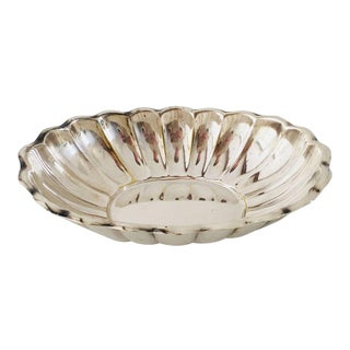 Reed & Barton Silver Plate Nut Dish For Sale
