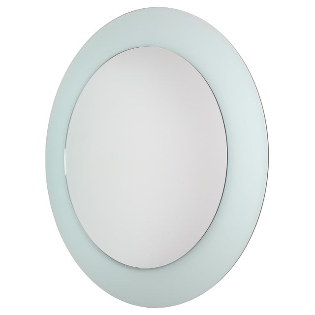 This piece is part of a new line of Full Circle Modern Original fully customizable, acrylic frame mirrors. The translucent...