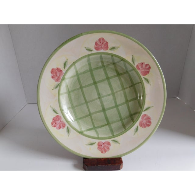 Ceramic Service for 8 - Bella Ceramica Tuscan Pottery Dinnerware For Sale - Image 7 of 13