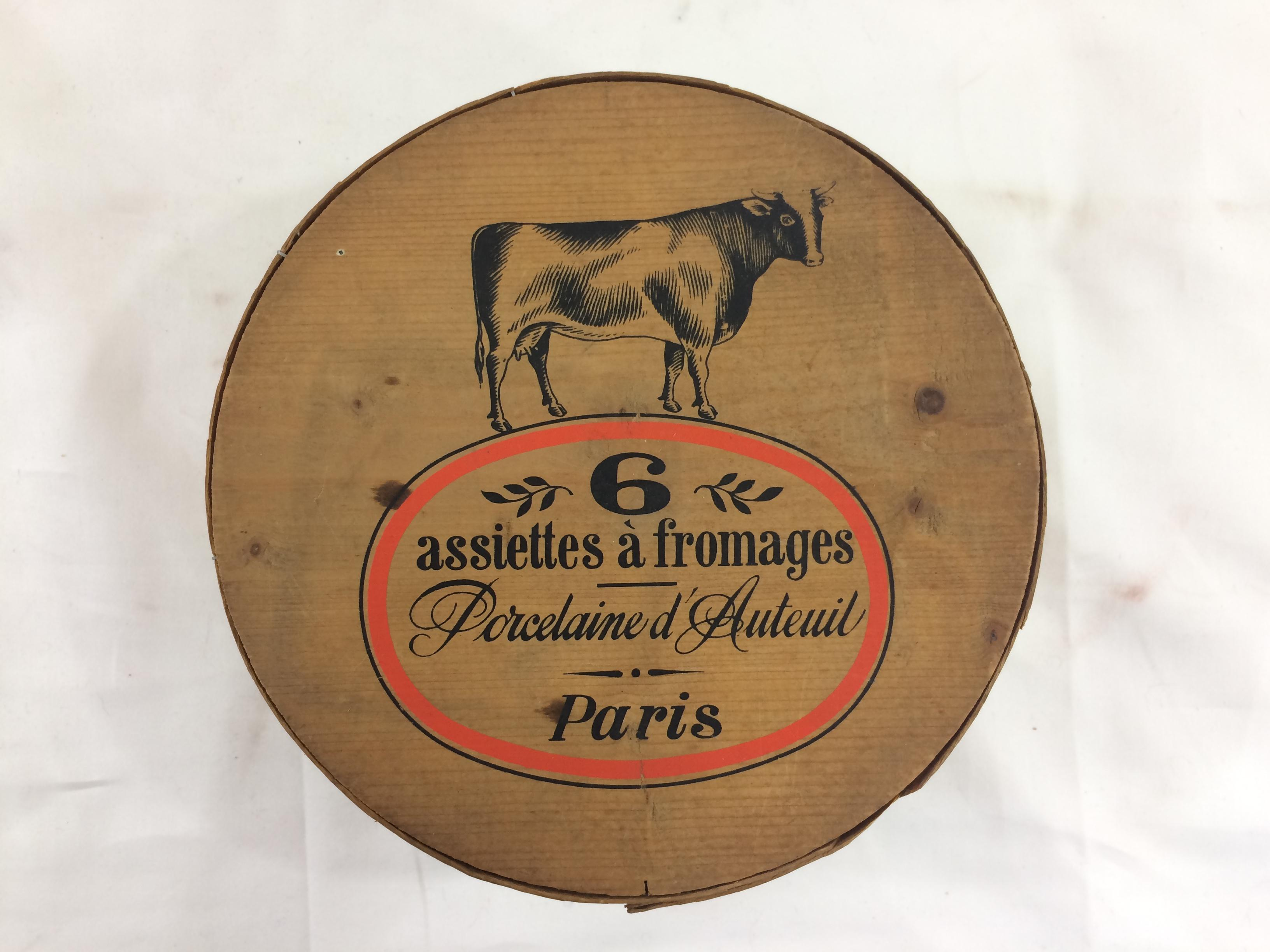 French Cheese Plates - Set of 6 - Image 2 of 11  sc 1 st  Chairish & French Cheese Plates - Set of 6 | Chairish