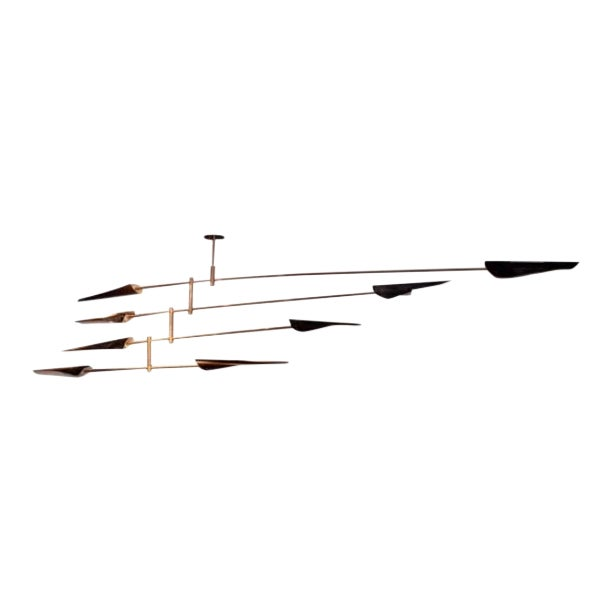 """""""Saru"""" Four Tier Chandelier by David Weeks Mobiles For Sale"""
