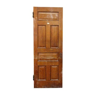 Raised Panel Pine Wood Door