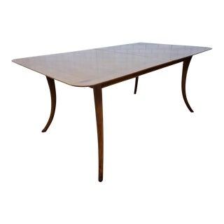 Mid Century Modern t.h. Robsjohn-Gibbings for Widdicomb Rectangular Dining Table For Sale