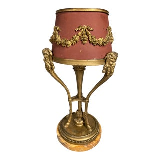 Antique French Louis XVI Desk/Table Lamp For Sale