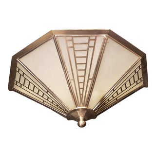 1990s Vintage Fredrick Ramond Luminaire Wall Sconce For Sale