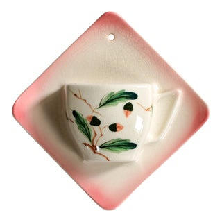 Tea Cup Wall Pocket Planter For Sale
