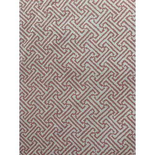 Java Java Pink Quadrille Alan Campbell Fabric For Sale