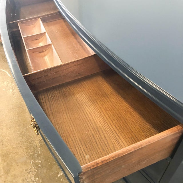 1960s 1960s Vintage Navy High Gloss Lacquer Dresser For Sale - Image 5 of 10