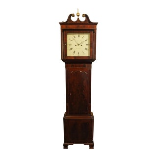George III Tall Case Clock For Sale