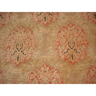 Kravet Couture Palais French Damask Chenille Upholstery Fabric- 15 1/4 Yards For Sale