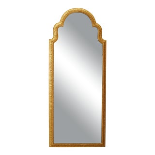 English Queen Anne Gilt Wall Mirror For Sale