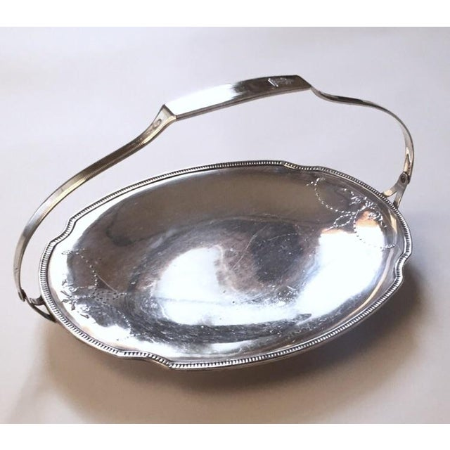 Victorian Church Bright Silver Communion Plate, Holiday Serving Tray - Image 2 of 10