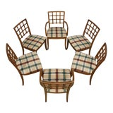 Image of Set of 6 Mid-Century Drexel Dining Chairs For Sale