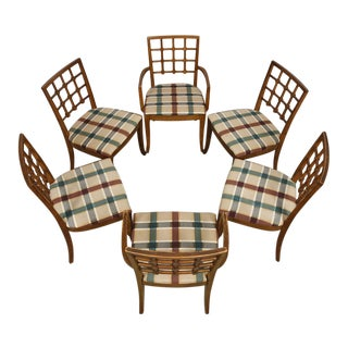 Set of 6 Mid-Century Drexel Dining Chairs For Sale
