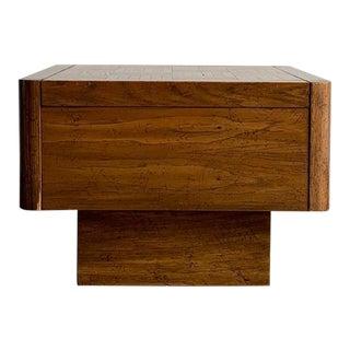 Oak 1970s Side Table For Sale