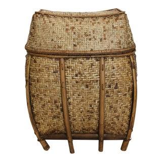 Decorative Asian Woven Basket