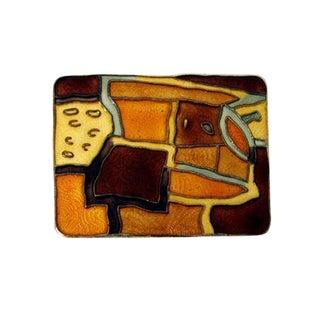"David Andersen Norway Sterling ""Autumn"" Brooch For Sale"