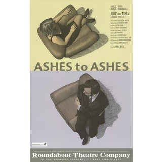 "SCOTT MCKOWEN Ashes to Ashes 22"" x 14"" Offset Lithograph 1996 Advertising For Sale"