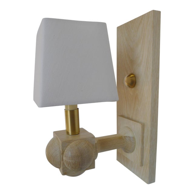 Foursquare Sconce by Paul Marra For Sale