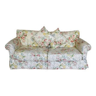 Sunny Floral Standard Sofa For Sale