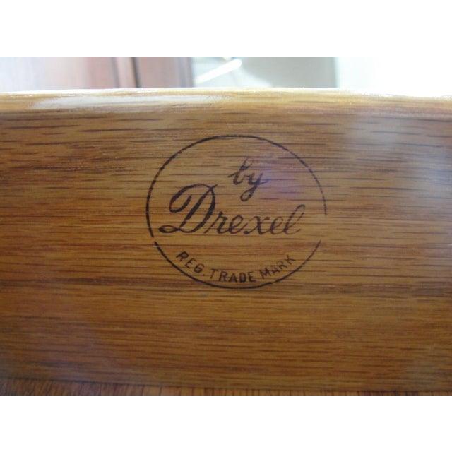 Brass Stewart Macdougall Walnut Sideboard for Drexel For Sale - Image 7 of 7