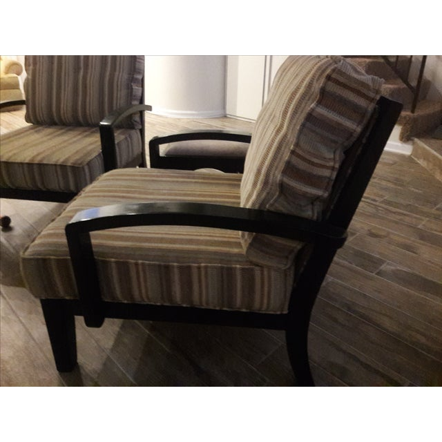 Mid Century Playboy Style Chairs - Pair - Image 4 of 6